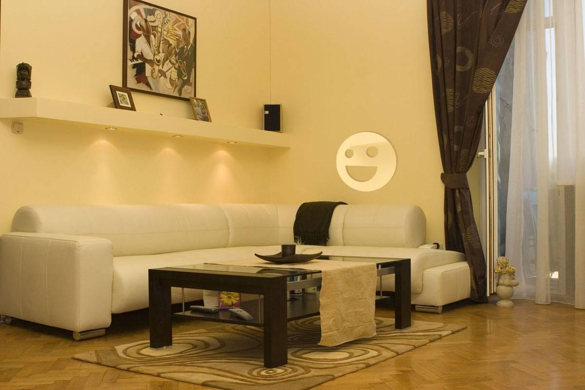 Miroir acrylique décoratif réprésentant un Smiley heureux d'épaisseur 3mm