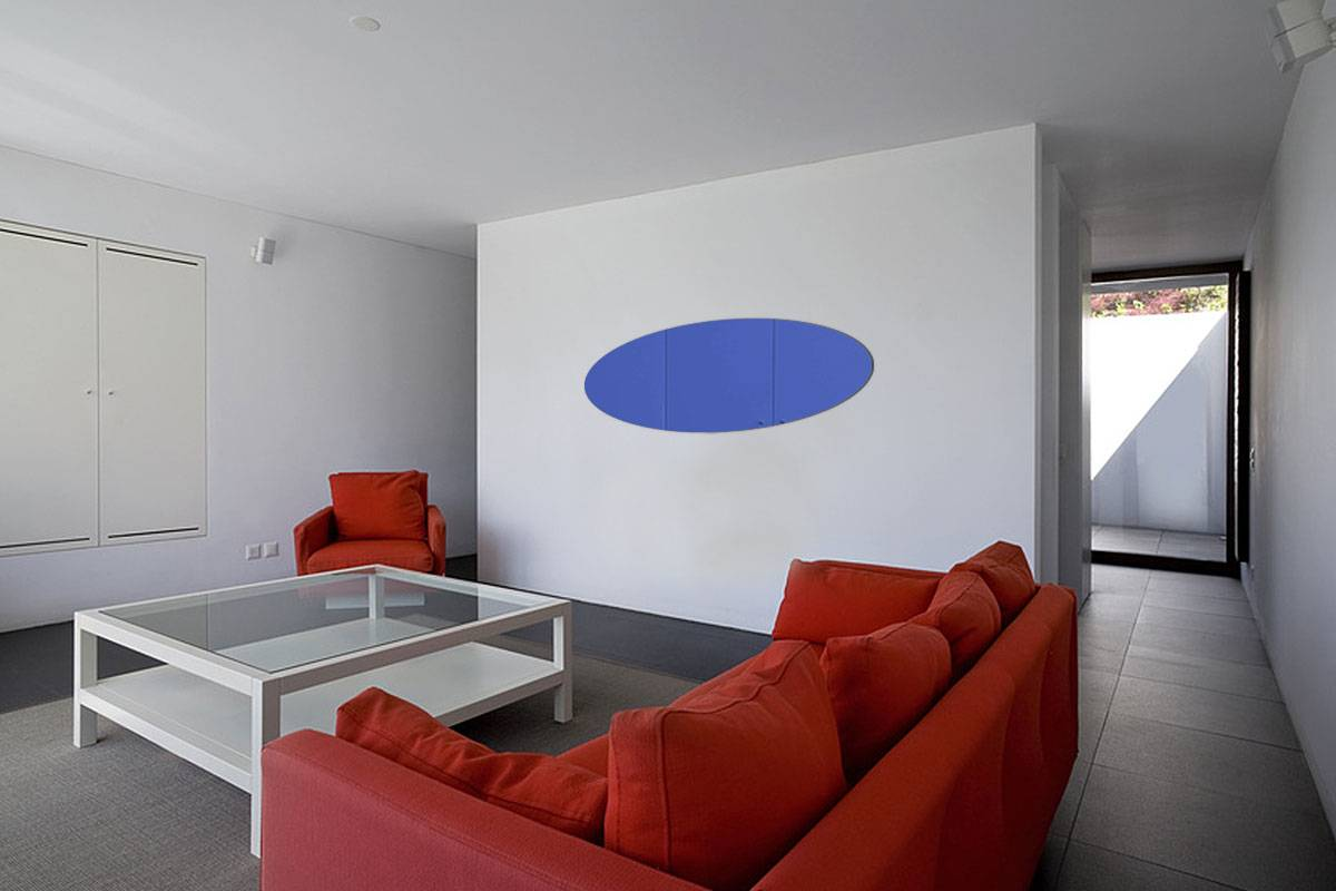 Miroir acrylique Bleu 3mm