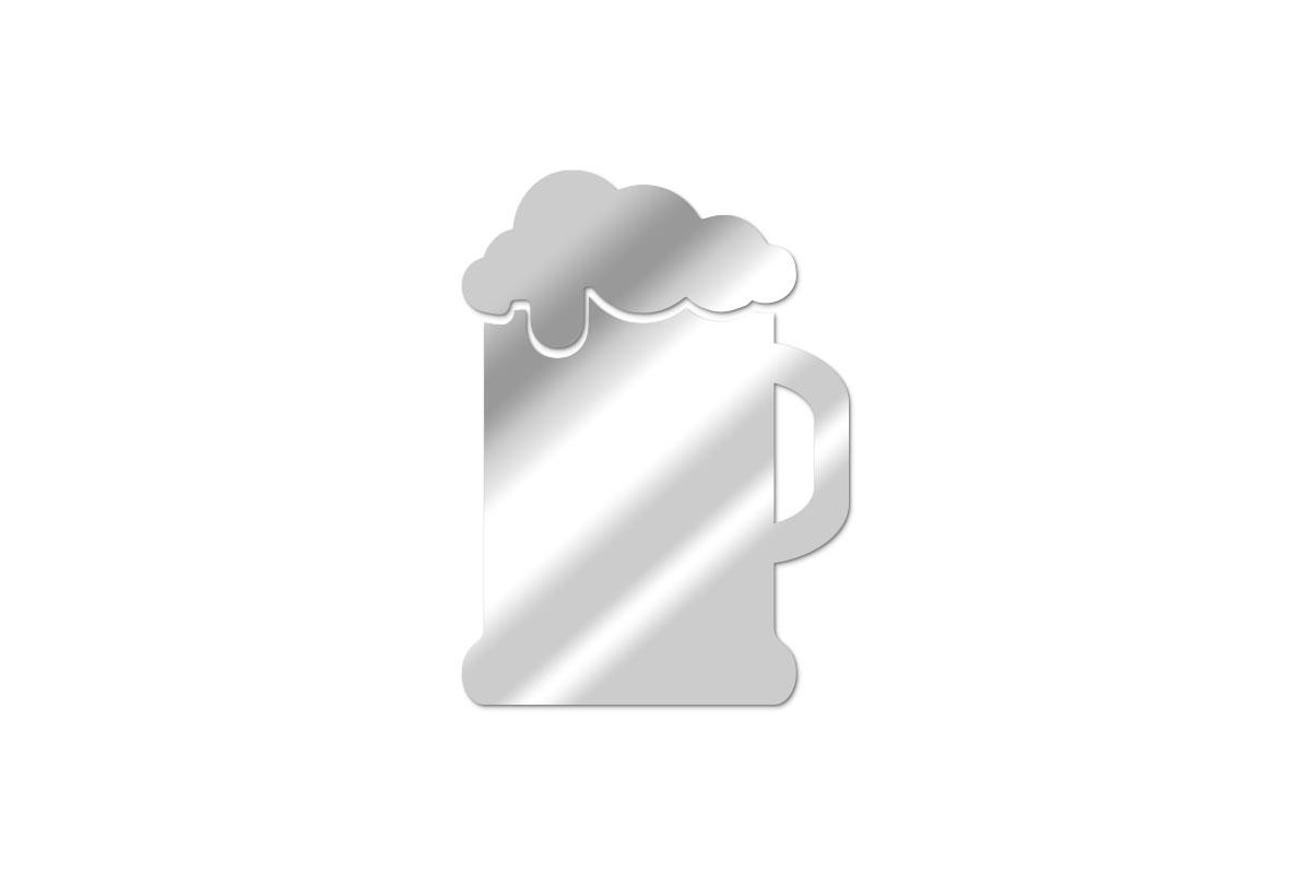 Miroir Pinte de bière