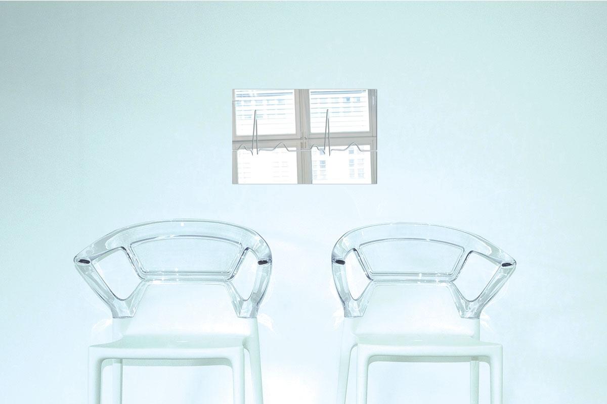 Miroir décoratif ECG