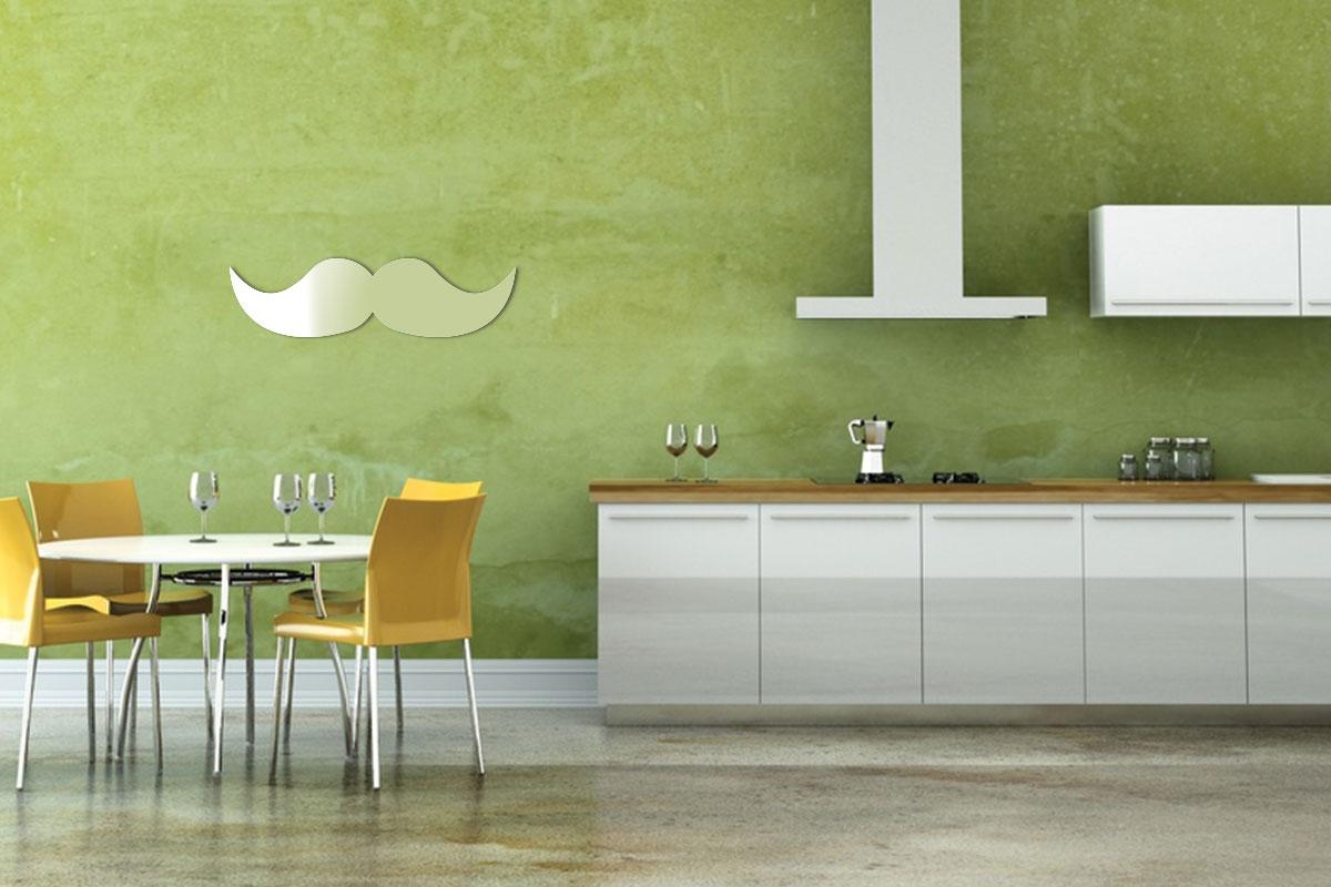 Miroir décoratif Moustache