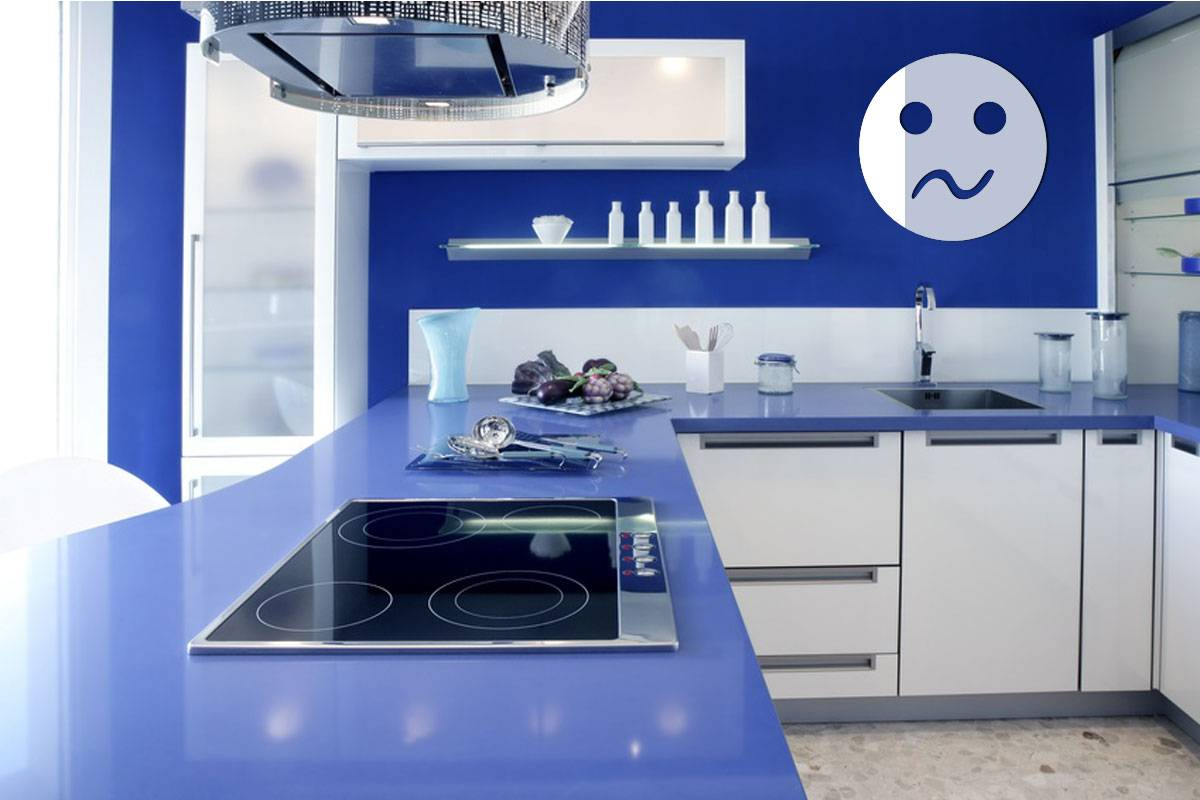 Miroir acrylique Smiley inquiet 3mm