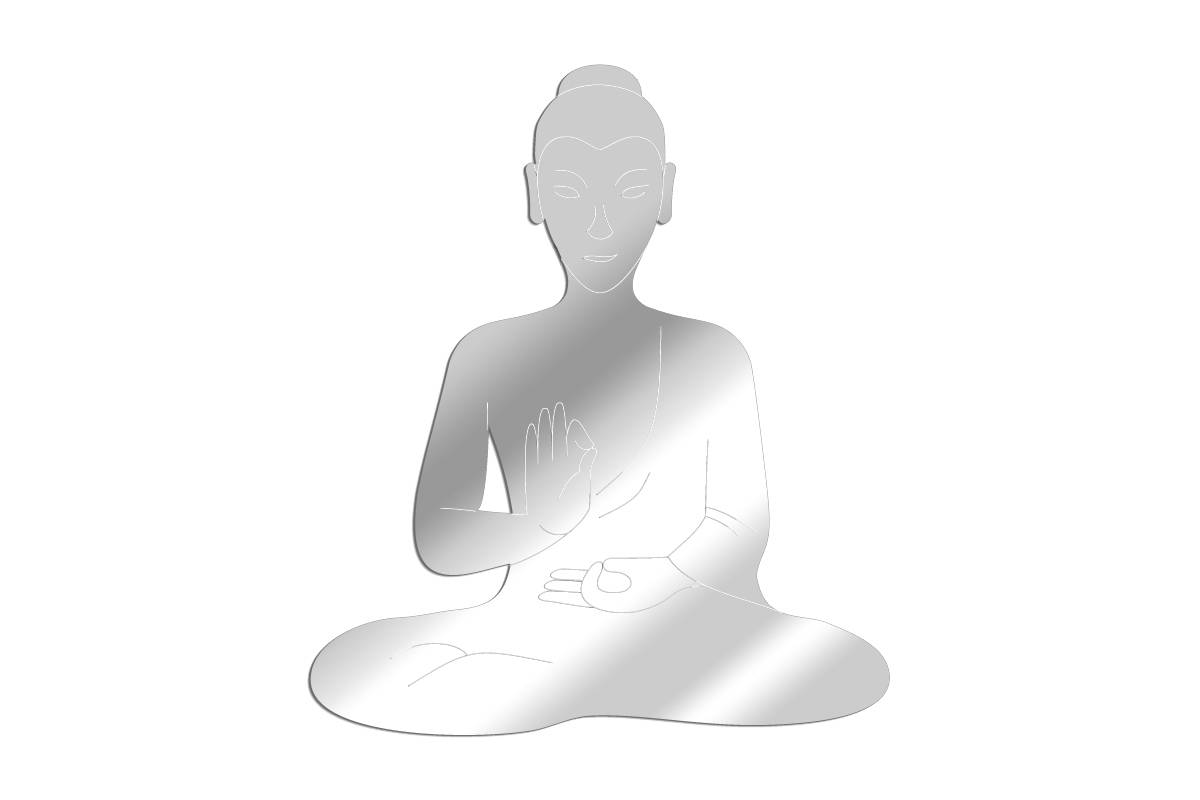 Miroir Bouddha