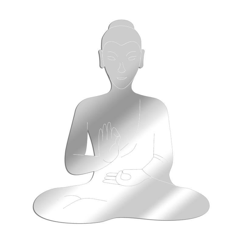 Miroir acrylique Bouddha 3mm